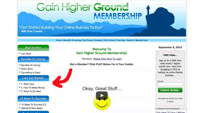 Gain Higher Ground Review, Health Support Hub