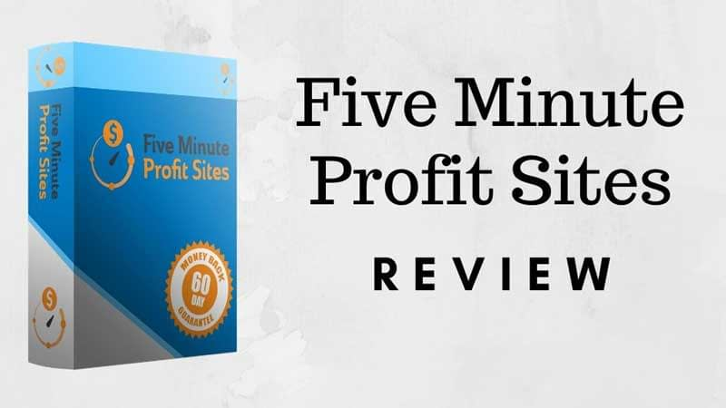 Five Minute Profit Sites Review, Health Support Hub