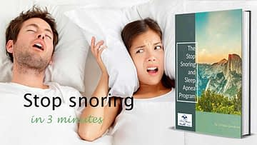 The Stop Snoring Exercise Program, Health Support Hub